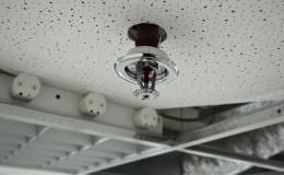 Installation of a fire sprinkler